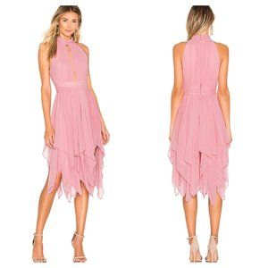 NWT Michael Costello x Revolve Andrea Dress Blush